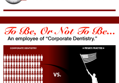 "To be, or Not to be...an employee of ""Corporate Dentistry."""