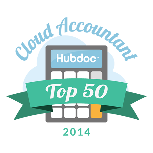 Hubdoc's Top 50 Cloud Accountants 2014